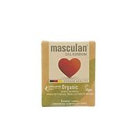 Bao cao su 3 cái Masculan Organic