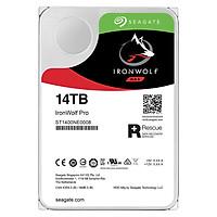 Ổ Cứng HDD NAS Storage Seagate IronWolf Pro 14TB/256MB/3.5 7200RPM - ST14000NE0008 - Hàng Chính Hãng