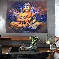 Tranh vải treo tường Phật A Di Đà trang trí sang trọng
