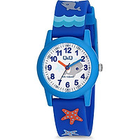 Đồng hồ trẻ em Q&Q Citizen VR99J009Y dây nhựa thương hiệu Nhật Bản