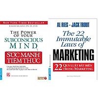 Combo 2 Cuốn Sách: Sức Mạnh Tiềm Thức + 22 Quy Luật Bất Biến Trong Marketing