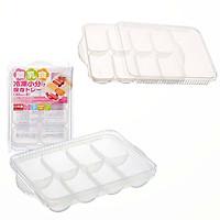 Bộ 3 khay dự trữ thức ăn dặm cho trẻ Skater - Hàng nội địa Nhật