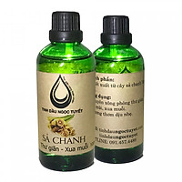 Combo 2 chai tinh dầu sả chanh thư giản và khử mùi Ngọc Tuyết 100mlx2