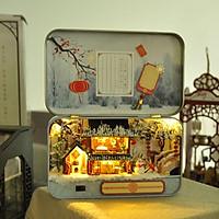 Nhà lắp ghép trong hộp thiết chủ đề Quà tặng Giáng Sinh
