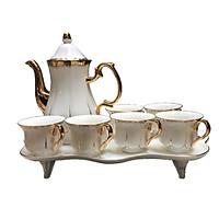 Bộ tách trà khay 1227