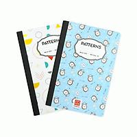 3 Sổ kẻ ngang 300 trang Patterns 4532