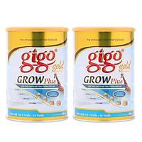 Combo 2 hộp Sữa Bột Gigo Gold Grow Plus 900g – công thức chuyên biệt tăng trưởng chiều cao