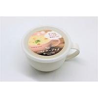 Cốc súp có nắp đậy nhựa PP cao cấp của Nhật Bản 360ml (màu ngẫu nhiên)
