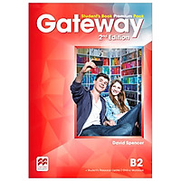 Gateway 2nd ED B2 Student Book PREM PK