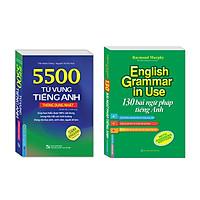 Combo 130 bài ngữ pháp tiếng Anh , 5500 từ vựng tiếng Anh thông dụng nhất