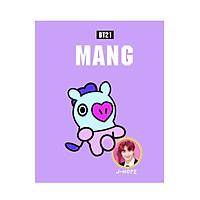 Sổ Nhỏ BT21 - Mang