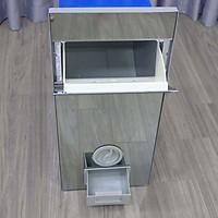 Thùng đựng gạo âm tủ mặt gương  KTG-03