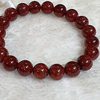 Vòng Tay Đá Thạch Anh Tóc Đỏ Thiên Nhiên Size 10li ( Vip ) - VTCT0040