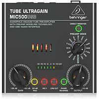 Behringer MIC500USB Audiophile Vacuum Tube Preamplifier- Hàng chính hãng