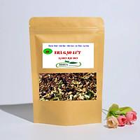 Trà gạo lứt xạ đen đậu đen hỗ trợ giảm cân - lợi sữa - ngủ ngon ( MS)