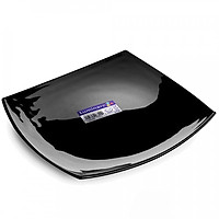 Đĩa Thủy Tinh Luminarc Quadrato Noir D7200 - (26cm)
