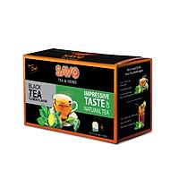Trà SAVO Chanh (Lemon Tea) - Hộp 25 Gói x 2g