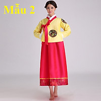 Hanbok nữ Hàn Quốc, Bộ Trang Phục Truyền Thống Nữ Hàn Quốc Nhiều Mẫu Mã Đa Dạng - Mẫu 2