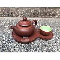 Bộ ấm trà tử sa độc ẩm dáng chóp