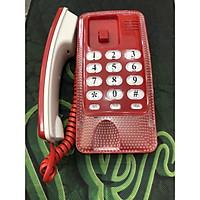 Điện thoại bàn màu đỏ KXT438