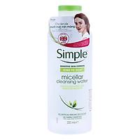 Nước Tẩy Trang Simple Micellar (200ml) [ Được Mask 3W Clinic ]