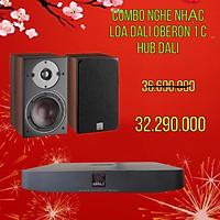 COMBO NGHE NHẠC LOA OBERON 1 C VÀ DALI HUB HÀNG CHÍNH HÃNG NEW 100%