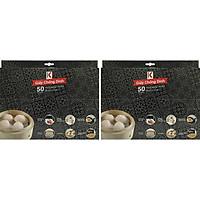 Combo 2 Túi Giấy Chống Dính Kokusai GCDD00004923 (50 Tờ/Túi)