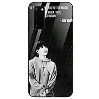 Ốp kính cường lực cho điện thoại Samsung Galaxy S20 Plus - Tôi Yêu B.T.S MS TYBTS017