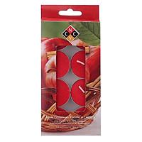 Hộp 8 Nến Tealight Thơm Cao Cấp Hương Apple Cinnamon Nycandle FtraMart Candle EDC-NYC08 (Đỏ)