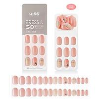 Bộ 30 Móng Tay Gel Tự Dán Press & Go Kiss New York Nail Box - Cotton Candy Spring (KPN09K)