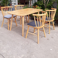 Bộ bàn ăn 4 ghế PL07