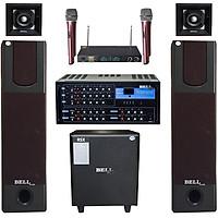 Dàn nghe nhạc và hát karaoke BellPlus PA - KS 336 Tích hợp Bluetooth  (Chính Hãng )