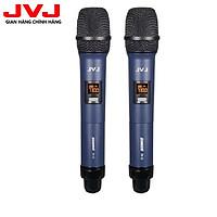 Bộ 2 Microphone không dây W-15 JVJ đa năng, tương thích cao - Hàng Chính Hãng