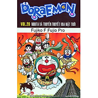 Sách - Doraemon Truyện Dài - Tập 20 - Nobita và truyền thuyết vua mặt trời