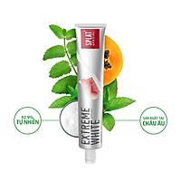 SPLAT special Kem Đánh Răng thảo mộc EXTREME WHITE Nga Siêu Trắng 75ml, kháng khuẩn và ngừa sâu răng, không hóa chất