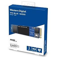Ổ cứng SSD WD Blue SN550 1TB M.2 2280 NVMe Gen3 x4 WDS100T2B0C - Hàng Chính Hãng
