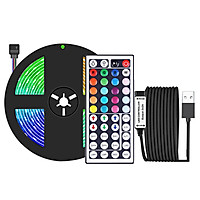 dải Đèn LED 16.4ft RGB 20 màu không thấm nước Điều Khiển bằng remote