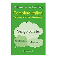 Easy Learning Complete Italian Grammar, Verbs & Vocabu