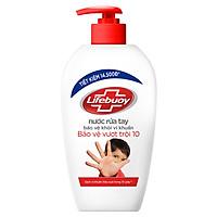Nước Rửa Tay Diệt Khuẩn Lifebuoy Bảo Vệ Vượt Trội 500g - 21126129