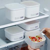 Bộ 3 hộp nhựa đựng thực phẩm white pack 1L, 900ml, 280ml Nhật Bản