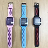 Đồng hồ thông minh định vị trẻ em Wonlex KT04( Hồng) hàng chính hãng - Tặng vòng tay Ruby