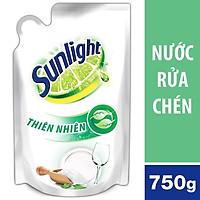 Nước rửa chén sunlight thiên nhiên 1 Túi 750g màu trắng