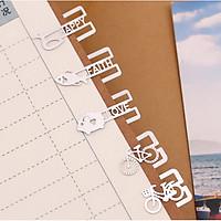 Combo 20 kẹp giấy kim loại - Bookmark kết hợp memoclip