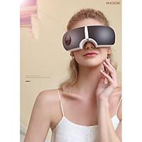 Máy Massage Mắt Bằng Ấp Suất Khí Có Tích Hợp Kết Nối Bluetooth Nghe Nhạc Thư Giãn Cao Cấp - Hàng Chính Hãng
