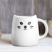 Ly sứ mèo con - Màu trắng