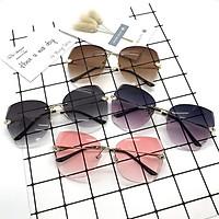 Kính mát thời trang xi ốc không khung cao cấp Hàn Quốc đạt tiêu chuẩn bảo vệ mắt chống tia UV - Kính râm nữ 032