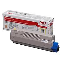 Mực In Laser Màu OKI C5850 C/M/Y/K Cho Máy In OKI C5850N, C5950N (Gồm Chip) - Hàng Chính Hãng