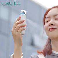 Uareliffe Water Replenishing Instrument Rechargeable Nano Sprayer Handheld Humidifier Hydrating Anti-aging Wrinkle Facial Humidification Tool Home Outdoor Office Skin Care Replenishing Humidifier For Men Women Use
