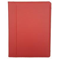 Bìa Trình Ký Da - Không Nắp Cài - Màu Đỏ