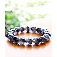 Vòng tay đá thạch anh tóc đen mệnh thủy, mộc - Ngọc Quý Gemstones